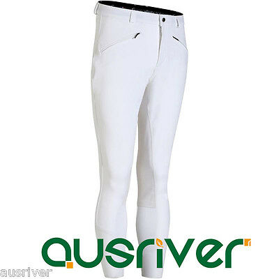 Extra Large Mens Full Seat Breeches Horse Riding Pants White Competition Jodhpur