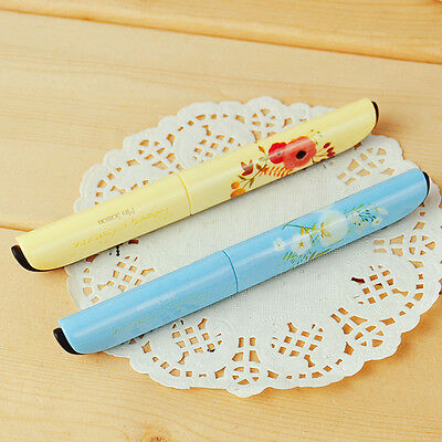 NEW Portable Floral Pattern Paper Scissors Scrapbooking Scissors For Kids Gift