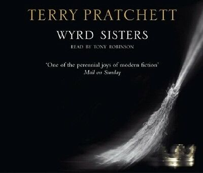 WYRD SISTERS  by TERRY PRATCHETT AUDIO BOOK CD  - NEW & SEALED DISCWORLD