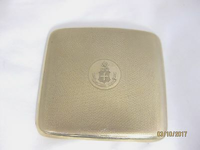 Solid 9ct.Gold  CIGARETTE CASE Hallmarked  LONDON 1921 SUPERB QUALITY