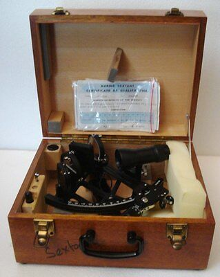 Marine Sextant GLH 130-40 - No. 5102188 - SHIP'S 100% ORIGINAL - EXCELLENT ONE