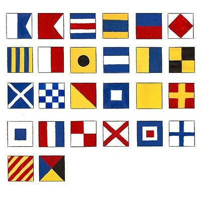 100 set Naval Signal Flags / Flag SET- Each Set 26 Flag  - Total 28000 flag