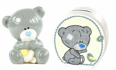 Tiny Tatty Teddy Me to You Bear Baby Money Boxes ~ New Baby Christening Gifts