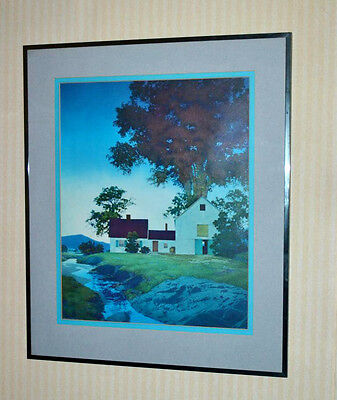 Mazfield Parrish TWILIGHT Print Authentic Original 1943  [PL3260]