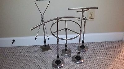 5 Assorted Vintage Retail Clothing Counter top Display Racks