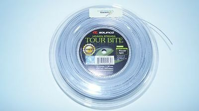 *NEU*Solinco Tour Bite SOFT Saitenset 12m Tennis 1.20mm silber 17L string set