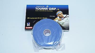 *NEU*30x Unique Tourna Grip XL Original Overgrip Tennis blau Griffband blue 30er