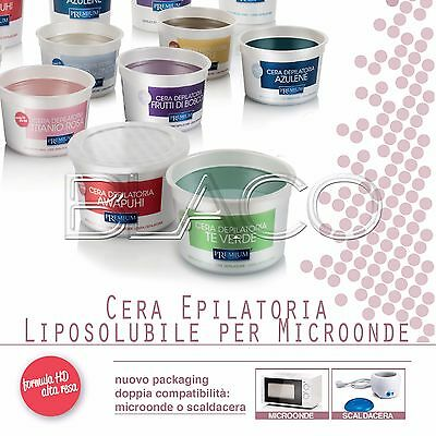 Cera Liposolubile 350Ml Premium By Xanitalia Ceretta Depilatoria