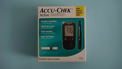 New product Accu-chek active glucometer set.