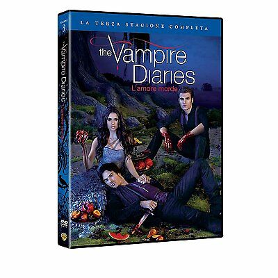 The Vampire Diaries - L'amore morde - Stagione 3 (5 DVD) - ITALIANO ORIGINALE -