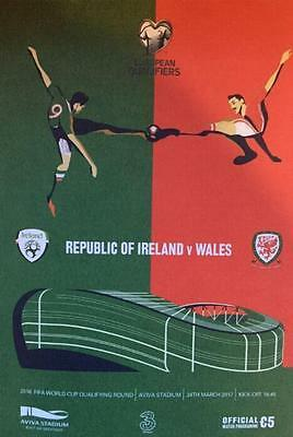 * REPUBLIC OF IRELAND v WALES - WORLD CUP QUALIFIER (24th March 2017) *
