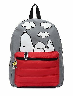 Peanuts Snoopy on Doghouse 16 Backpack