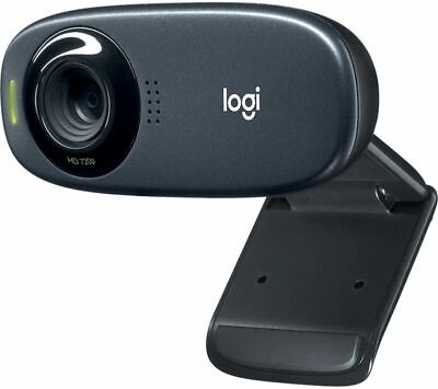 LOGITECH C310 HD Webcam Built-in microphone Black