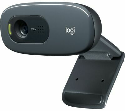 LOGITECH HD Webcam C270 - Built-in microphone - Black