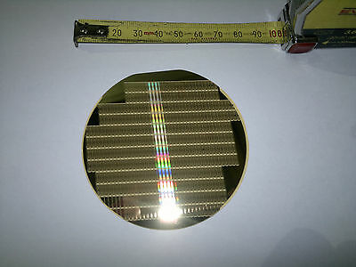 1 x In process Motorola Silicon Wafer 7.5cm - Collectable - Retro - Single Buy..