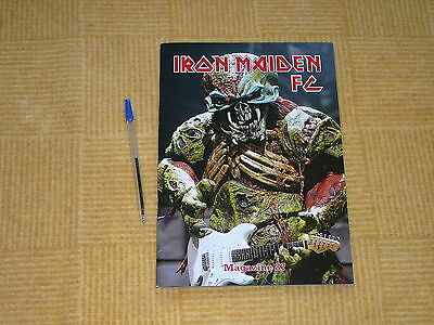 Iron Maiden Official Fan Club Magazine 87 Free Uk Post