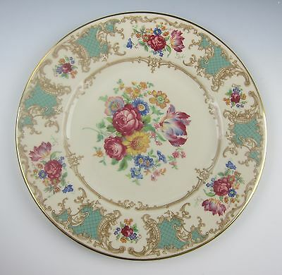 Syracuse China ROMANCE-GREEN Dinner Plate(s) EXCELLENT