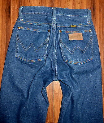 Vintage Womens 80's Wrangler High Waist Tapered Straight Leg Jeans Size 3X34