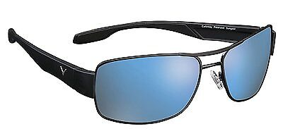 NEW Golf Callaway C80002 Metal Frame Brown Lens and Blue Mirror Eagle Sunglasses