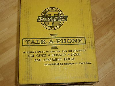 Talk-A-Phone KRW-7B Intercom Relay Music Accessory,NIB/NOS