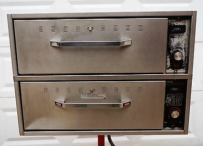 HATCO 2 DRAWER FOOD WARMER Built In Insert Warming Unit Electric Compartment