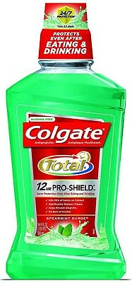 Colgate Total Advanced Pro-Shield Mouthwash, Spearmint, 16.9oz JUMBO Family Size