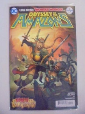 Odyssey of the Amazons #3 A Cover DC Rebirth NM Comics Book
