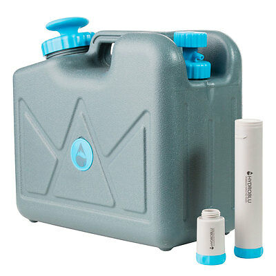HydroBlu Pressurized Jerry Can Water Filter -Activated Carbon & Hollow Fiber