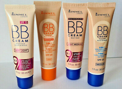Rimmel BB Cream 9-in-1 Skin Perfecting Super Makeup SPF 25  30ml Chose Shade