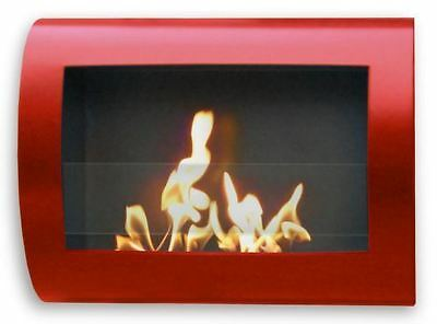 Anywhere Chelsea Indoor Wall Mount Fireplace-Red