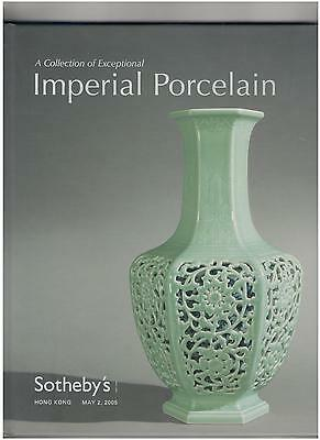 Sotheby's Chinese Catalog, Hardcover, Imperial Porcelain, Hong Kong, May 2, 2005