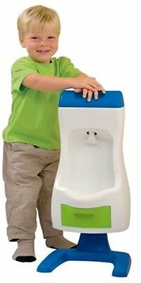 Peter Potty Trainer Plastic Flushable Toddler Urinal with Removable Tray