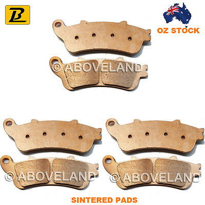 FRONT REAR Sintered Brake Pads HONDA VFR 800 2000-2000 2001 2002 2003 2004 2005