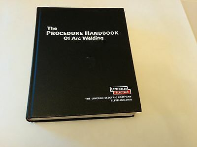 Lincoln Electric Procedure Handbook of Arc Welding (12th Edition) Hardcover