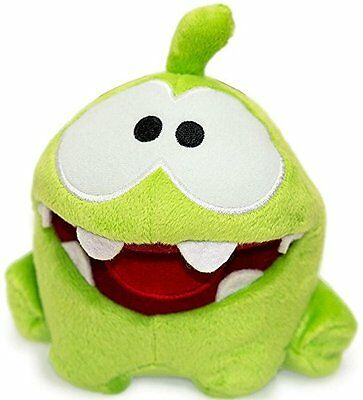 """New Limited Edition Cut The Rope 6.5"""" My Pal Om Nom Hungry Plush Figure"""