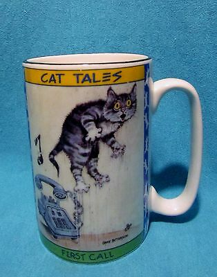 Cat Tales Cups By Gary Patterson Westwood Ceramic 8 Oz Coffee Tea Mugs