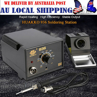 Useful HuaKo 936 ESD Soldering Iron tool welding Soldering station & CE certs AG