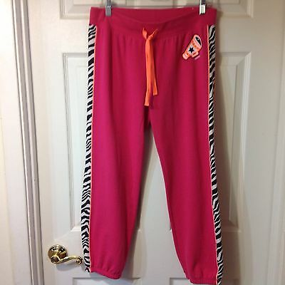 Justice Girls Cheer Sweat Pants,  Size 18