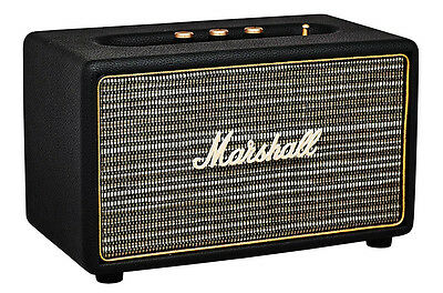 Marshall Acton Speaker - Black Colour with Bluetooth, 3.5mm Input Marshall