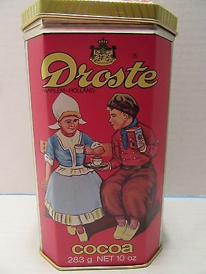 Droste Cocoa Tin ~ Holland