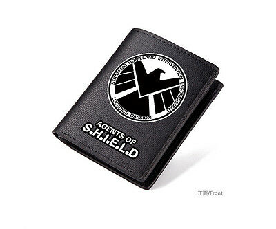 DC Comics Marvel Iron Man PU Leather Men Women IC Credit Card Holder Wallet