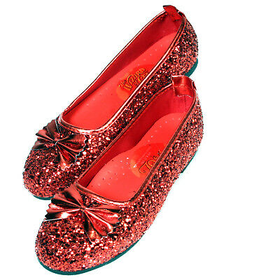 The Wizard of Oz Ruby Child Slippers, Small