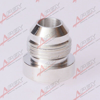 AN-20 AN20 20AN Male Aluminum Alloy Weld Plug Fitting Round Base
