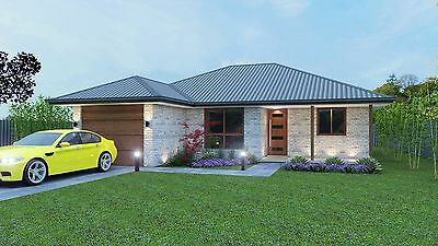 3 Bedroom first home owner -small land dwelling New Contruction Plans - Kit Home