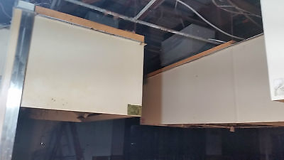 """USED RESTAURANT HOOD with DUCTWORK  / 78"""" Long / 4 Hoods Available"""