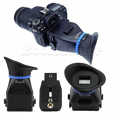 "3.0X LCD Viewfinder For Nikon CANON Sony Leica SLR DSLR 3""/3.2"" Screen Camera"