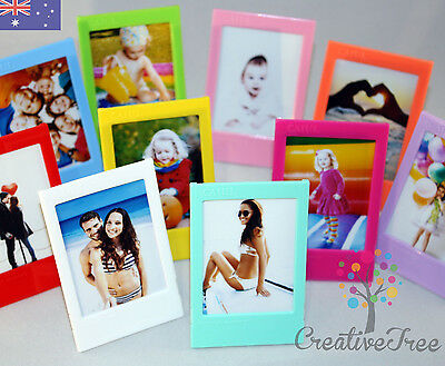 SET OF 5 or 10 Photo Frames for Fujifilm INSTAX MINI 8 7 50s 90 - choose colours