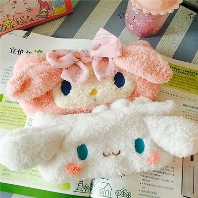 Soft Solid  Birthday Face My Melody Baby 2 Color Headwear Cinnamoroll Gift