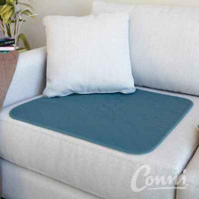 Conni Chair Pad Large Teal Blue