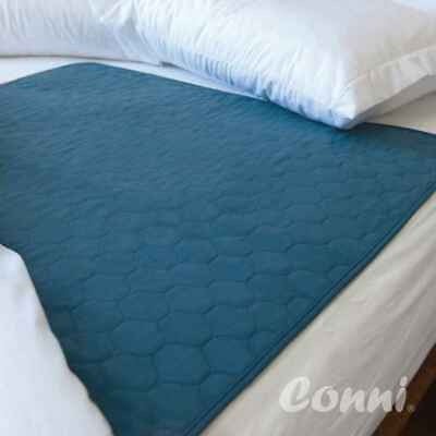 Conni Mate Bed Pad Teal Blue